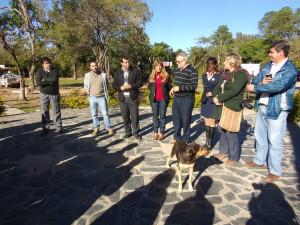 Apertura formal de la actividad en plaza Belgrano
