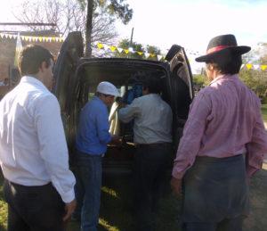 El Municipio colaborando en los Festejos a San Joaquín