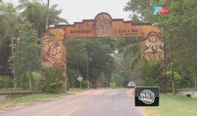 En el camino en Corrientes