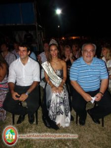 El gobernador Ricardo Colombi presente en la primera noche del Festival del Mango