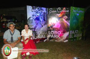 La vecina localidad de San Cosme presente en el Segundo Festival del Mango