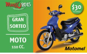 Sorteo 2015 - motox