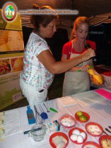 La chef Mirian Iconicoff en el Festival del Mango