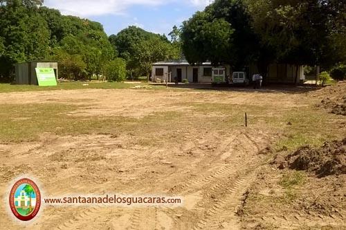 Terreno cedido por el Municipio de Santa Ana al gobierno provincial para emplazar la trascendental obra