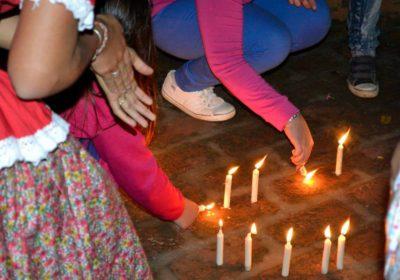 foto festival en honor a San Juan Bautista en Santa Ana de los Guácaras, Corrientes, Argentina