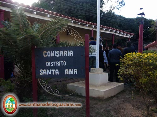 Comisaria de Santa Ana refaccionada