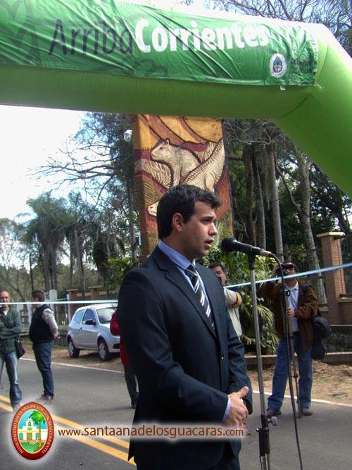 Augusto Navarrete, intendente de Santa Ana