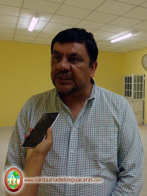 Roberto Monzón, director de Infraestructura Escolar