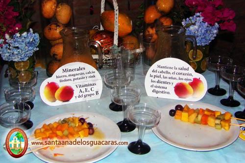Los visitantes pueden degustar comidas con mangos e informarse de sus propiedades