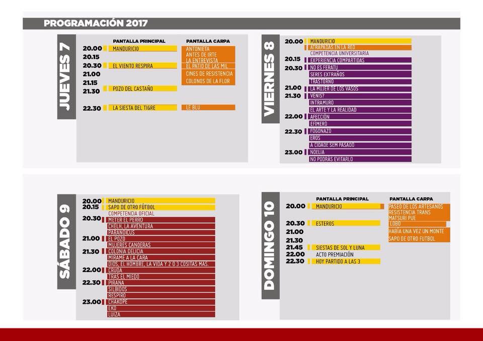 img agenda festival guacaras 2017