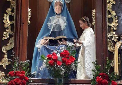 imagen de santa ana parroquia de los indios guacaras