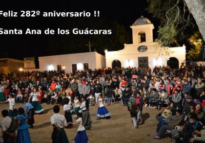 282 aniversario fundacional
