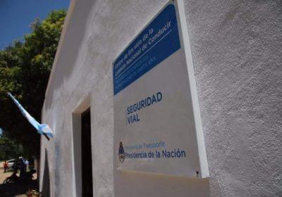 foto entrada centro emisor de licencias municipalidad de santa ana de los guacaras