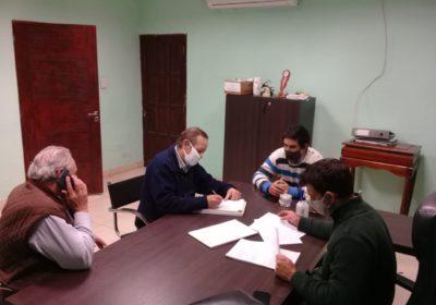 foto reunion emergencia agropecuaria